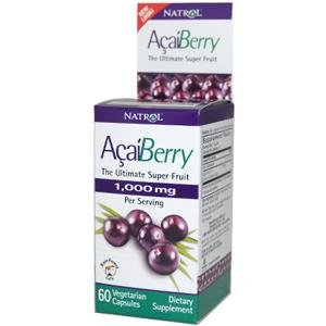 Natrol Acai 1000 mg 60 Gél. Capsules