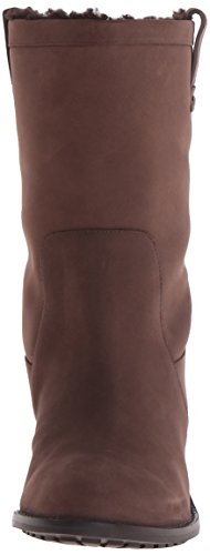 Cole Haan Womens Jessup WP Boot Chestnut Leather/Faux Shearling r6VvFOr