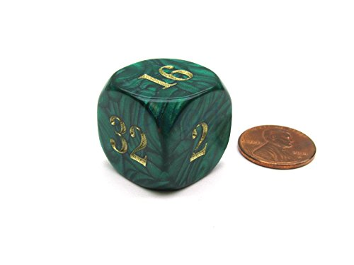 Backgammon 22mm Doubling Cube Dice - - Backgammon Cube Doubling
