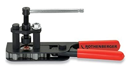 Rothenberger 26036 RoFlare Single Compact Flaring Tool 3//16 to 5//8-Inch