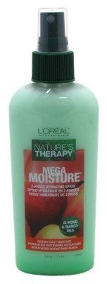 - L'OREAL L'oreal nature's therapy mega moisture 2-phase hydrating spray, 6 Ounce, 6 Ounce