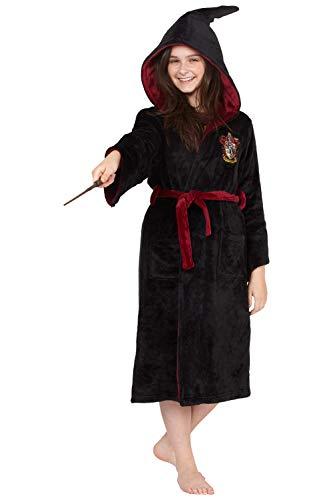 INTIMO Harry Potter Costume Kids Plush Robe (Gryffindor, Small 7/8)