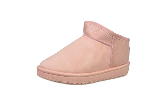 Shoes Winter Snow Warm And Pink Autumn Boots Tube Boots Short wBaPOqO74