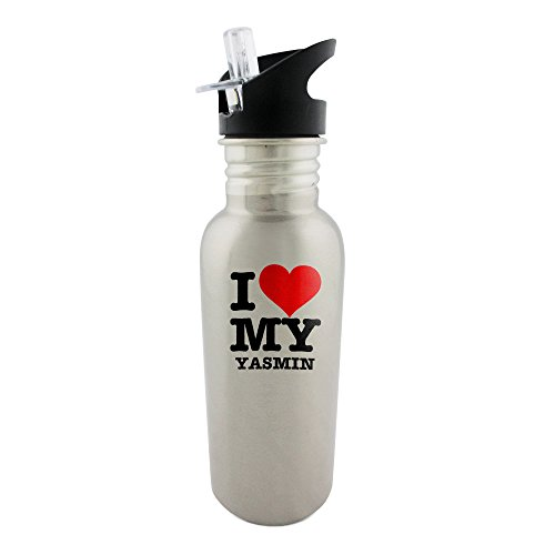stainless-steel-bottle-with-straw-top-of-i-love-my-yasmin