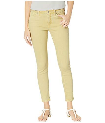 Lucky Brand Women's MID Rise AVA Skinny Jean in Jersey Yellow, 28W X 27L