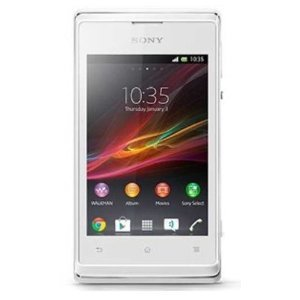 Sony Xperia E C1504 White Unlocked Android Phone-U.S. Warranty- 2G Network- GSM 850 / 900 / 1800 / 1900, 3G Network- HSDPA 850 / 1900 / 2100 by Unknown