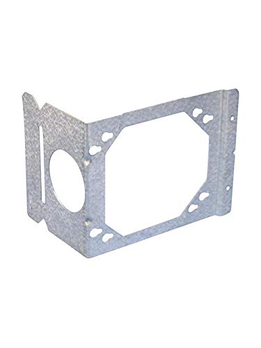 Caddy H4 2-1/2 and 3-5/8 Inch Pre-Galvanized Steel Stud Mount Electrical Box Support Bracket (36 Units)