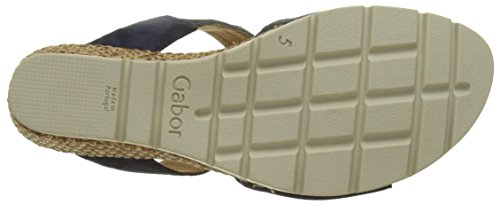 Mules Bleu Blue Gabor Femme Shoes Comfort Grata p4wyqqxzSE