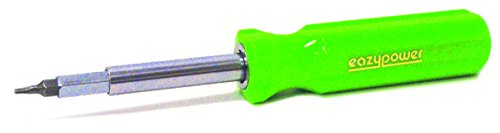 #1//#2 Phillips Eazypower 35557 12-Pack Orange 4-in-1 Screwdriver 4-5//8-10 Slotted