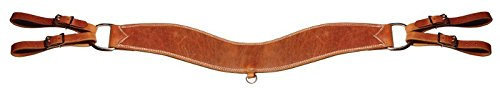 Horse Western Amish Tack Harness Leather Steer Tripper Breast Collar 975H5005