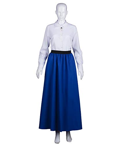 Halloween Party Online Women's Looney Tunes Granny Costume, Blue & White Small]()