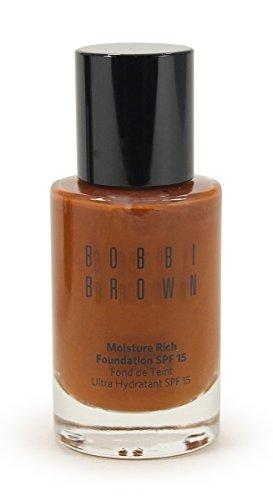 Bobbi Brown Moisture Rich SPF 15 Foundation Walnut 8