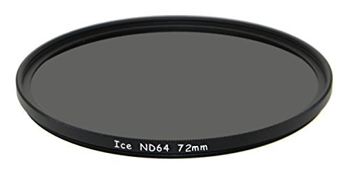 ICE 72mm ND64 Filter Neutral Density ND 64 72 6 Stop Optical Glass