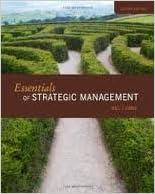 Book Essentials of Strategic Management 2nd (second) edition