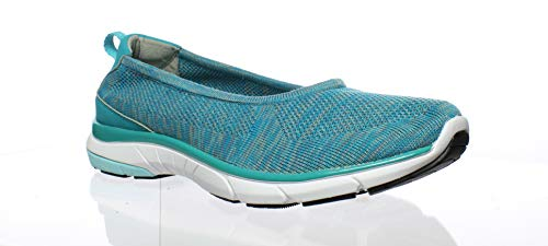 Teal 10 Flex Womens Sneaker on Slip Taglia Aviva g8p0qpX