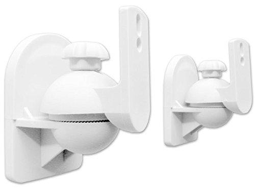 2pezzi Supporto fissaggio supporti altoparlante Speaker casse acustiche bianco modello: bh4W Drall Instruments
