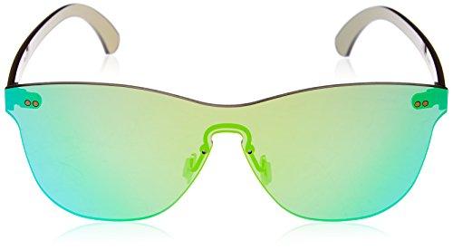Lenoir Eyewear LE22.6N Lunette de Soleil Mixte Adulte, Vert