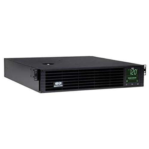 Tripp Lite SmartPro 120V 3kVA 2.88kW Line-Interactive Sine Wave UPS, 2U Rack/Tower, Extended Run, Pre-Installed WEBCARDLX Network Interface, LCD Display, USB, DB9 Serial (SMART3000RMXLN)