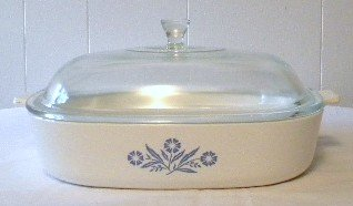 [Corning Ware Cornflower Blue 11