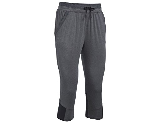 Under Armour Women's Got Game Ankle Crop,Carbon Heather (091)/Graphite, Large ()