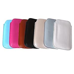 ZCL Solid Color Shiny PU Leather Smoked Pull Bag for Samsung S5/ I9600 (Assorted Colors)