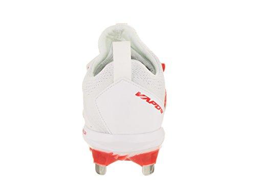 Nike Lunar Men Cleat Men's Red Elite US 8 University Baseball Vapor 5 White Ultrafly rrg7q5