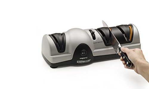 Professional EverSharp 3-Stage Electric Knife Sharpener,