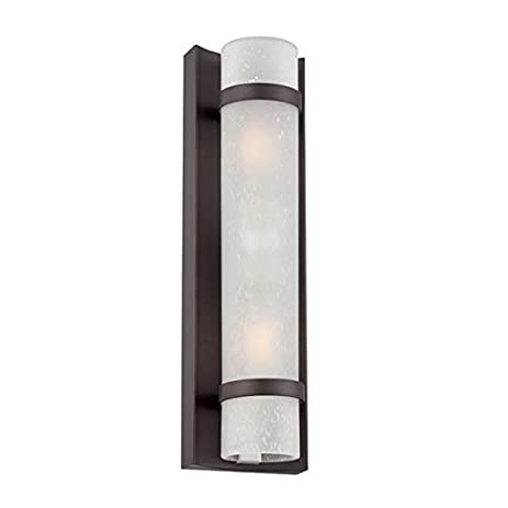 Acclaim 4701ABZ Apollo Collection 2 Light Wall Mount Outdoor Light Fixture,  Architectural Bronze