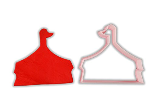 Circus Tent Cookie Cutter - LARGE - 4 Inches