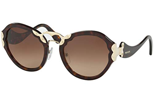 Prada Women's 0PR 09TS Havana/Brown Gradient - Lens Brown Prada