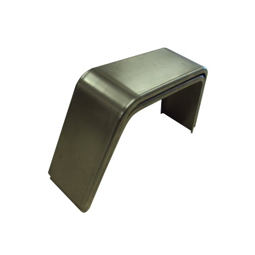 10 X 19 X 36 16GA steel fenders 1 pair (Single Axle Enclosed Trailers)