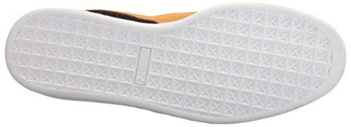 Classico In Pelle Scamosciata Puma +, Pantofola Misto Adulto Sneaker Puma Nero-oro Inca