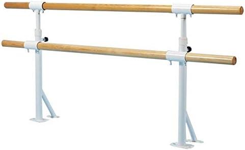 バレエバー バレエスタンド バレエ ダンス用バー バレエバレダブルバレエバーのために子供のウォールは、ホームのためにバレエストレッチ調整Hightの80〜120センチメートルストレッチバレダンスをマウント Ballet Barre bar