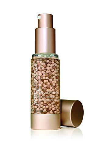 Liquid Powder Mineral Makeup - jane iredale Liquid Minerals A Foundation, Suntan, 1.01 oz