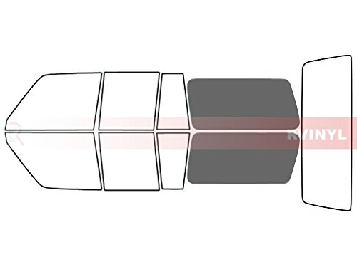 Rtint Window Tint Kit for Toyota Land Cruiser 1990 - Cargo - 35%