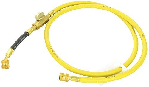 "Robinair (65160 Enviro-Guard Hose With Ball Valve - 60"", Yellow"