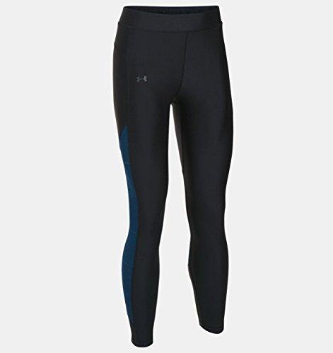 (Under Armour HeatGear Supervent Crop Women's Training Pant - SS17 - Small - Black)