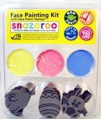 Snazaroo Easter Bunny Chick and Egg Face Paint Kit with Face Paint Stamps
