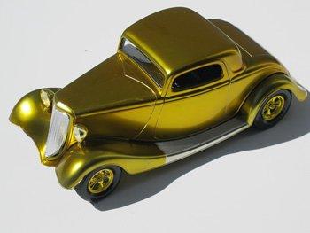 Alclad II Lacquers Paint Candy Golden Yellow Enamel 1 oz #706