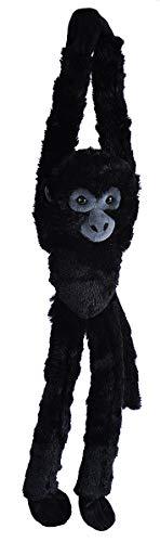 (Wild Republic Spider Monkey Black, Monkey Stuffed Animal, Plush Toy, Gifts for Kids, Hanging 22