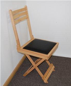 Beech wood Folding Chair And Table Silla Plegable y Mesa ...