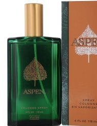Aspen By COTY FOR MEN 4 oz Cologne Spray (Aspen Perfume)