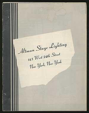 - Altman Stage Lighting