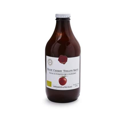 Frantoi Cutrera - Salsa Di Pomodoro Ciliegino - Cherry Tomato Sauce Flavored with Basil
