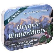 St Claire's Case Organic 1.5 Oz Wintermints Display Breath Freshener
