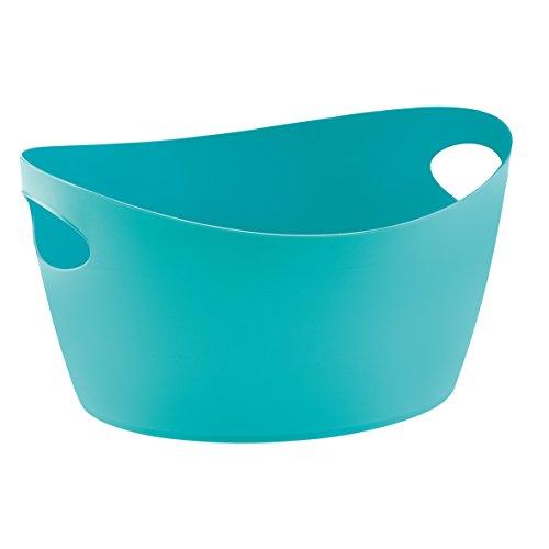 Bottichelli Washtub L Solid BLACK Turquoise