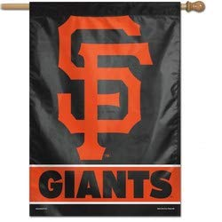 (WinCraft MLB San Francisco Giants 28x40 Vertical Banner, One Size, Team Color)