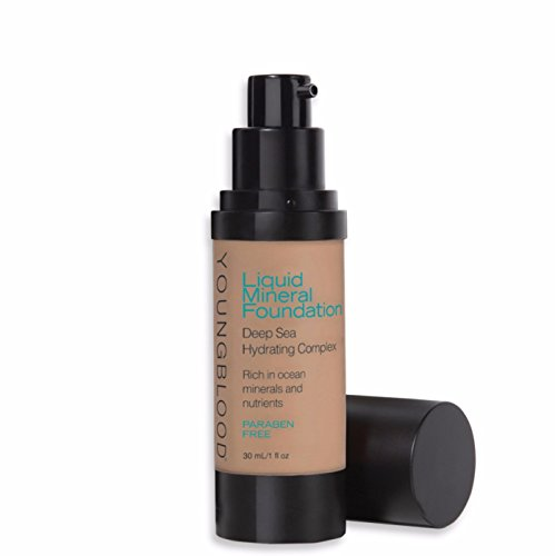 Youngblood Liquid Mineral Foundation, Suntan, 1 Ounce ()