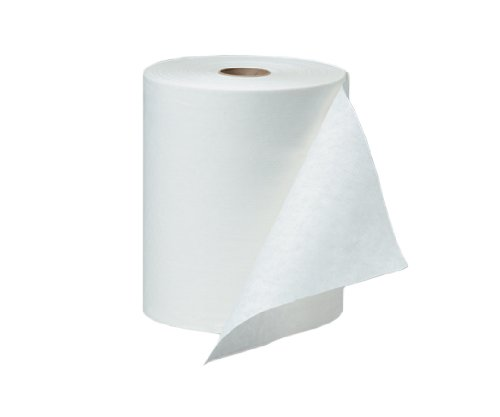 WAXIE 3600 Clean & Soft Universal Roll Towel, White, 600' Per Roll, 600' X 8'' (Case of 12)