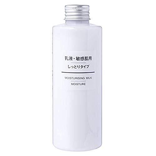 (MUJI Sensitive Skin Moisturizing Milk, Moisturizing - 200ml)
